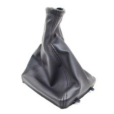 BLACK LEATHER GEAR SHIFT STICK GAITER VAUXHALL OPEL ASTRA G MK4 ZAFIRA A D40o