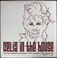 "CELIA CRUZ ""IN THE HOUSE (CLASSIC REMIXES)"" 2003 12"" VINYL PROMO 4 TRKS *SEALED*"