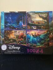 Ceaco Thomas Kinkade The Disney Dreams Collection 4 in 1 Multipack Ships Fast!