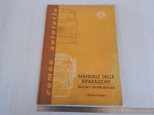 MANUALE ORIGINALE ALFA ROMEO RIPARAZIONI 1961 ROMEO AUTOTUTTO DIESEL CAMION 74PG