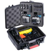 Smatree Waterproof ABS Hard Carry Large Case for GoPro Hero 5 4 3+ 3 2 1 Camera