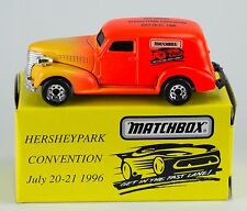 Matchbox Promo '39 Chevy Sedan Hershey Park Convention 1996 New in Box