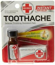Red Cross Medication Kit Drops For Toothache Emergency Pain Relief 3.7ml