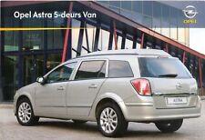 Prospekt / Brochure Opel Astra Van 05/2009 +++NIEDERLANDE+++