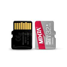 MIXZA 32G 32GB TF Flash Memory Card Transflash Class 10 80M for Tablet New D2G2