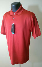 Mens PGA Tour Polo Shirt - Red - Size S - NWT - $50 Retail - Keep Cool in Heat