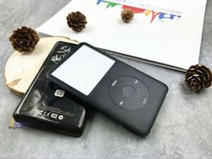 full black faceplate U2 back case housing clickwheel for ipod classic 80gb 120gb
