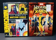 WOLVERINE AND THE X-MEN HEROES RETURN TRILOGY & THE COMPLETE MOTION COMIC DVD'S