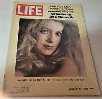 January 24, 1969 LIFE Magazine 60s Advertising ads add ad  FREE SHIPPING Jan 1