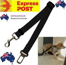 BLACK Adjustable Pet Dog Safety Car Vehicle Seat Belt Harness Lead Pet Seatbelt