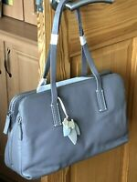 Radley Ladies Grey 'Bayer' Leather Shoulder Bag