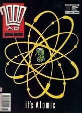 2000ad PROG 649<>featuring JUDGE DREDD<>FLEETWAY COMICS<>1989<>fine(6.0) ~