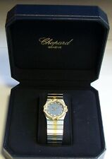 Luxus Herren Armbanduhr Chopard St. Moritz Quarz Stahl/Gold 35 Diamanten in OVP