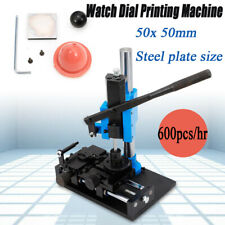 Manual Watch Dial Pad Printing Machine Watch Dial Printer High Printing Accuracy