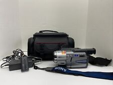 Sony Handycam Vision Ccd-Trv58 Hi8mm Analog Camcorder With Case Tested & Working