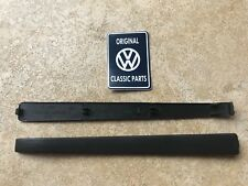 Mk1 Mk2 Golf GTI Tintop Cabriolet Door Handle Black Plastic Trim 191837239 x2