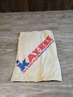 "VINTAGE KAY BEE TOY STORES 12""x8""  PAPER BAG"