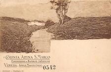 3182) VENEZIA 1900, COLONIA ALPINA S. MARCO ESPOSIZIONE DI BAMBOLE ARTISTICHE.