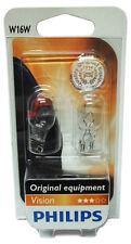 Philips 2 Stück W16W Premium 16 Watt 12 Volt 12067 Licht Autolampe Glassockel