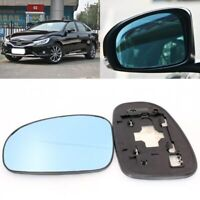 For Toyota Mark X 2005-2013 Side View Door Mirror Blue Glass With Base Heated