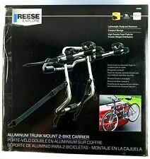 NIB REESE EXPLORE 1392900G Trunk Mount Two 2-Bike Rack Aluminum Bicycle Carrier