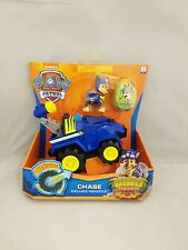 Paw Patrol Dino Rescue Deluxe Vehicle with Pup Chase  New