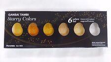 Kuretake Gansai Tambi Starry colors 6 color set MC20SC/6V  F/S Japan