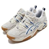 Asics Gel-Nandi White Grey Beige Blue Gum Men Running Casual Shoes 1021A502-101