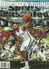 Brooklyn Nets DERON WILLIAMS  Signed Sports Illustrated SI