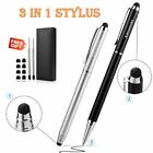 Stylus Pencil for iPad Pro iPhone Galaxy 2pcs 3 in 1 Universal Pen 8 Rubber cin