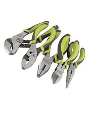 Craftsman Evolv 5 Pc Pliers Tools Set Green Tool Piece Rust Resistant Plier NEW