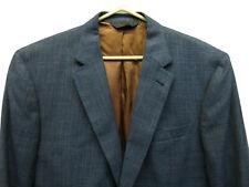New $595 Jos. Bank Blue Gray Wool Silk Blend 2 Bttn 1 Vent Joseph Sport Coat 44L