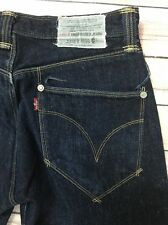 Rare Levi's Engineered Jeans June 9 1999 Dark Wash Twisted Leg Men's Size 30x29