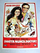 WHERE DOES IT HURT Original Movie Poster PETER SELLERS JO ANN PFUG RICK LENZ