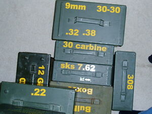 AMMO CAN LABELS ~ Set of 24 custom stickers / labels