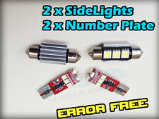 BMW E46 E90 CANBUS SIDE LIGHT NUMBER PLATE LED KIT ERROR FREE 501 39MM e92 e60
