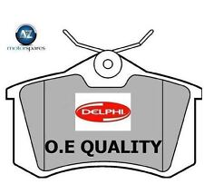 FOR PEUGEOT 405 1.9 Diesel 1987-1994 NEW REAR DELPHI BRAKE DISC PADS SET