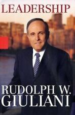 Leadership by Rudolph W. Giuliani,  2002, Very Good Condition