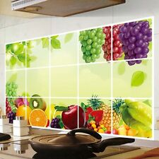 Removable Kitchen Oil-Proof Mural Art Vinyl Wall Stickers Home Room Decal Decor