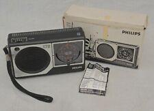 RARE VINTAGE PHILIPS 172 RADIO Boxed
