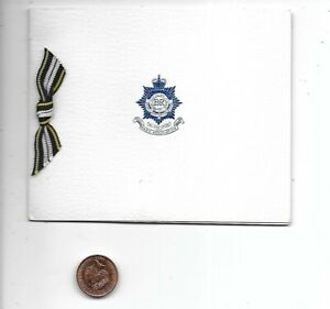 RASC Royal Army Service Corps Association Greetings Card Army
