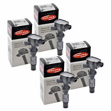Set of 4 Delphi Ignition Coil GN10251 For Ford Mercury Fusion Milan 06-09