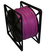 Red LAN Cable Cat6 Trenzado U/UTP Chaqueta de PVC Rosa 305m Cobre Puro HQ