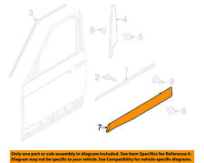 LAND ROVER OEM 17-18 Discovery Front Door-Lower Molding Trim Left LR082691