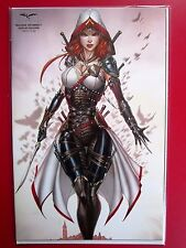 HELLCHILD THE UNHOLY #1 (NM) TYNDALL COSPLAY exclusive LTD 350 Grimm Fairy Tales