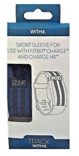 Withit Sport Sleeve For Use With Fitbit Charge And Charge Hr Track Blue/Black
