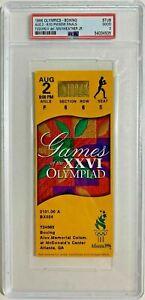 FLOYD MAYWEATHER JR loss vs SERAFIM TODOROV PSA 1996 Olympic boxing ticket stub