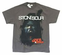 Stone Sour Scream House Of Gold & Bones Grey T Shirt New Official Corey Taylor