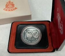 1974 Canada Cased Silver Dollar Winnipeg Centennial