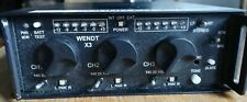 Wendt 3 Channel Mixer with bag